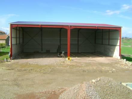 Screb 1er Constructeur Francais De Hangars Metalliques En Kit